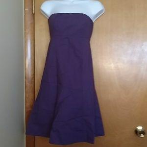 Gap formal strapless dress - purple, size 0